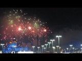 Фейерверк в честь открытия Олимпиады Сочи 2014))Урааа!))))